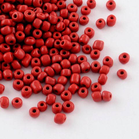 Mini Mostacillón Crimson Red 3mm (50 gramos)