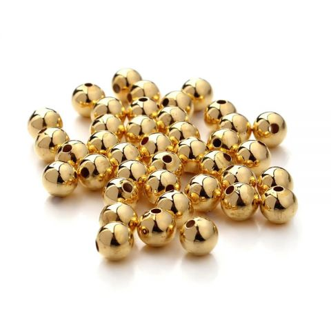Divisor Gold Filled Redondo 4mm (Unidad)