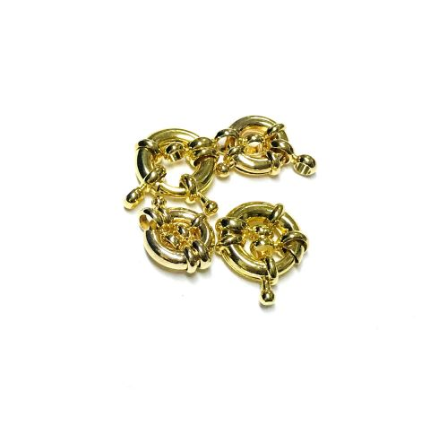 Broche Timón Gold Filled 8mm (Unidad)