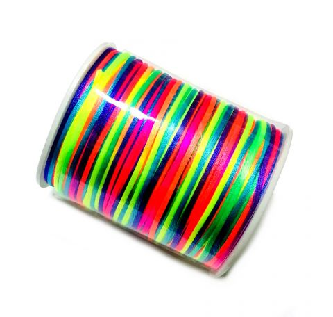 Hilo Cola Ratón Multicolor 2mm (Rollo)