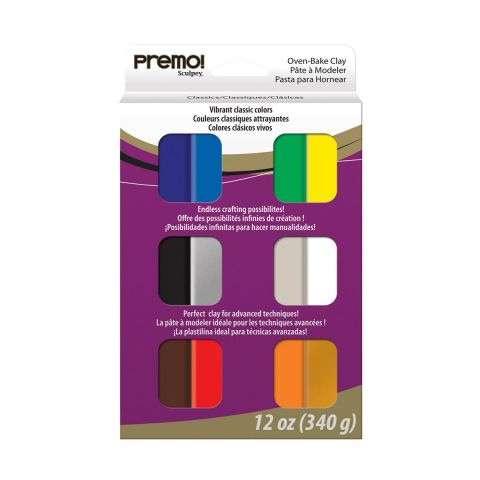Premo Accents Multipack 6 Pearls(Set)