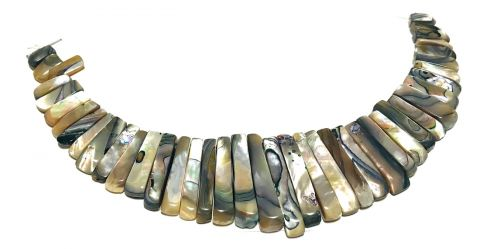 Set Maxi Collar Abalone Natural (Set)