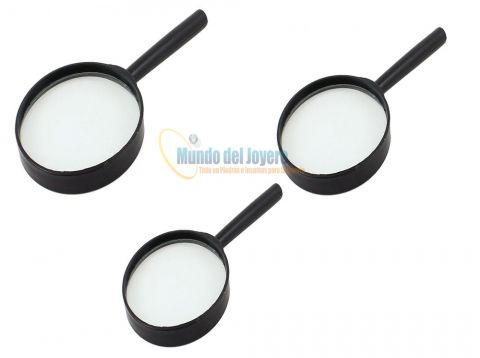 Set 3 Lupas Mango 50-90 y 100mm Econo (Set)