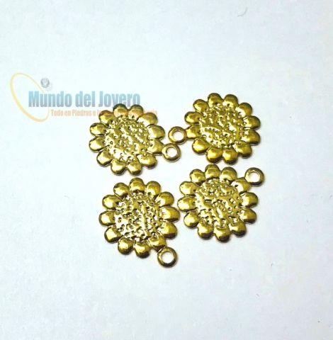 Colgante Chiche Gold Filled Flor (Un)