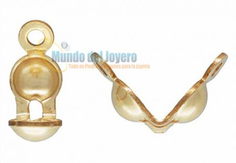 Tapanudo Gold Filled Doble 4mm (Par)